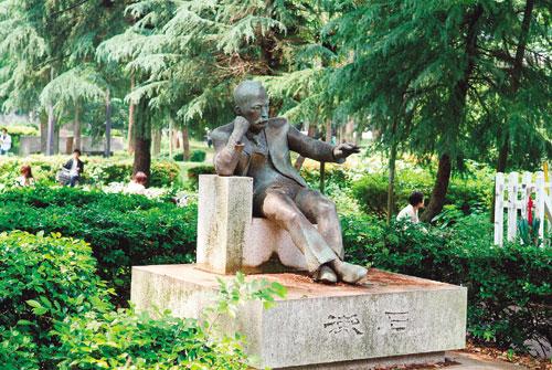 夏目漱石先生の碑