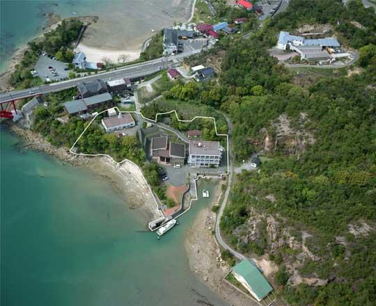 松島町キャンパス(H12年撮影)南方向より