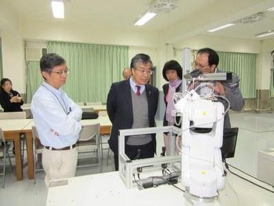 谷口学長が南台科技大学開学45周年記念式典に出席2