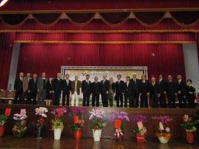 谷口学長が南台科技大学開学45周年記念式典に出席4