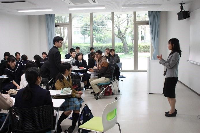 グローバル教育カレッジ棟オープニング記念イベント-7
