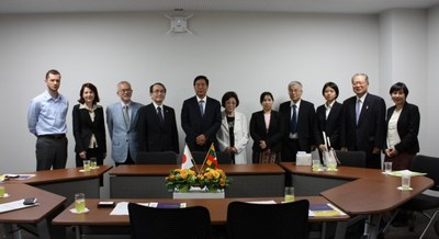駐日ミャンマー特命全権大使が本学を表敬訪問