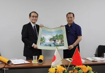 広西師範大学(中華人民共和国)副学長らが本学を表敬訪問