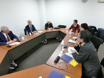 リガ工科大学(ラトビア)学長らが本学を表敬訪問