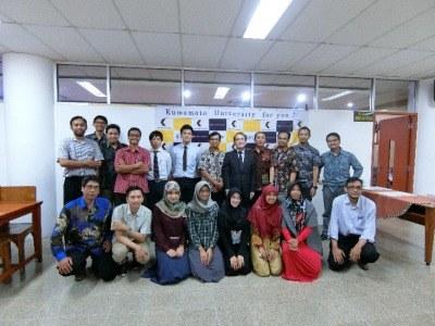 熊本大学インドネシア同窓会を開催