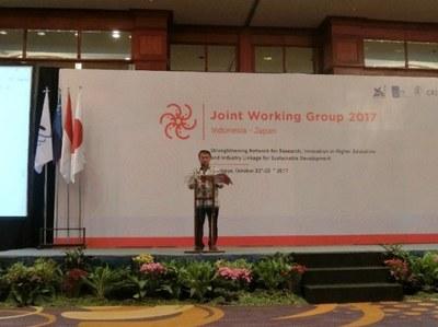 第4回 日本・インドネシア学長会議に参加