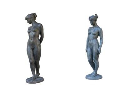 日展2銅像